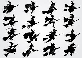 halloween silhouette clipart witch u0027s silhouette royalty free cliparts vectors and stock