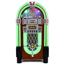 jukebox vintage 1950s retro stereo cd player fm radio aux usb