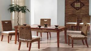 Wicker Dining Chairs Indoor Rattan Dining Chair In Indoor Rattan Fibre Category Dining Room