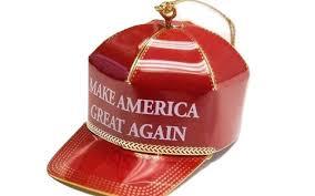 it u0027s yuge u0027 donald trump make america great again ornament proves