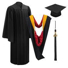black graduation cap and gown deluxe black bachelor cap gown tassel graduation cap