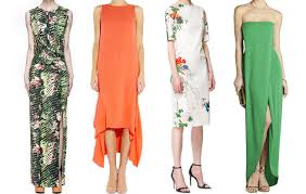 the find 10 dresses perfect for wearing to summer weddings