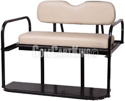buff club car ds 1982 up golf cart rear u0027classic u0027 flip back seat