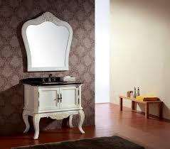 Wooden Bathroom Furniture Solid Wood Bathroom Cabinet Free Standing Storage Sink Vanity Inch