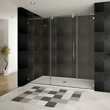 shower doors midland glass delta mandara 36 in x 66 in semi