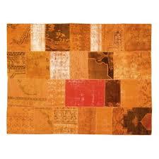 Orange Modern Rugs Limited Edition Mystic Carpet Orange Style Mysticorange