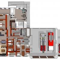 Fire Department Floor Plans University Fire Station Zba Architecture