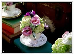 flowers flower pretty cup setting place wedding teacup pot table