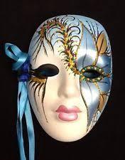 porcelain mardi gras masks venetian mardi gras decorative masks ebay