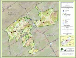 Green Ridge State Forest Map by Sourland Trail Maps Sourland Conservancy