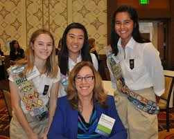 Katherine Adkins Is Honored By Scouts Of Greater Los Angeles