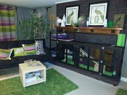 custom rabbit cage in my ikea living room for my english lop