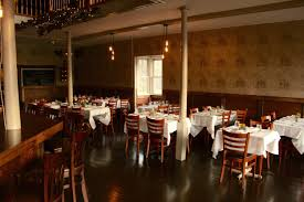 The Dining Room At Kendall College by Rocco U0027s On Main St