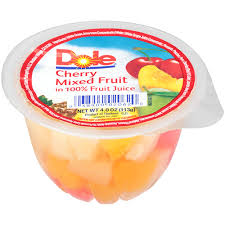 dole fruit bowls dole cherry mixed fruit bowl cs products