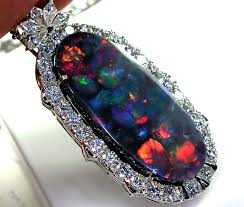 black opal necklace images Opal jewelry about selecting and purchasing opals and kinds jpg