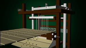 jacquard design machine simulation 3d youtube