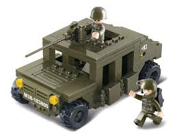 lego army jeep m38 b0297 sluban building blocks army serie armoured vehicle