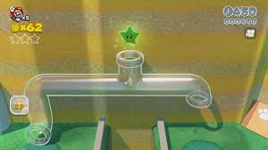 Green Flag With Star And Moon World 1 1 Super Bell Hill U2013 Super Mario 3d World Green Stars