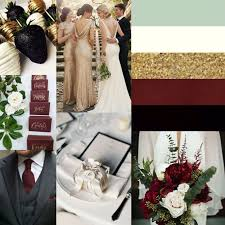 wedding colors the stunning colors of white burgundy wedding black gold ivory pale green and marsala beautiful wedding tones