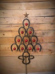 horseshoe christmas tree rustic horseshoe christmas tree back home country acres