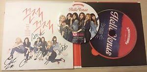sticky photo album hello venus signed autographed sticky sticky album with limited