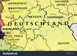 map of deutschland germany deutschland germany on map closeup stock photo 775373953