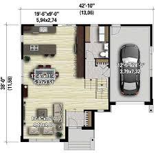 5 Level Split Floor Plans Split Level Contemporary House Plan 80789pm Architectural