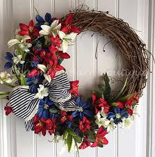 4th Of July Home Decor by 4th Of July Decorations Wreath Tutorial Wreaths Crafts Wreath