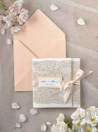 coral wedding invitations wedding invitations lace coral invitation 2218364 weddbook
