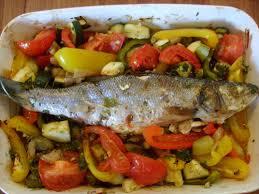 cuisiner du bar au four bar d été à la provençale de mamigoz chez mamigoz
