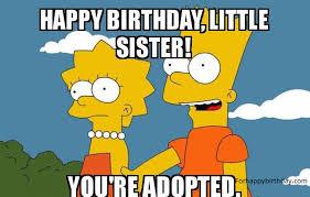 Sister Birthday Meme - happy birthday sister meme happy birthday