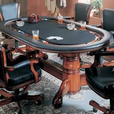 poker table top and chips high stakes game table top can be flipped for gaming or dining drink