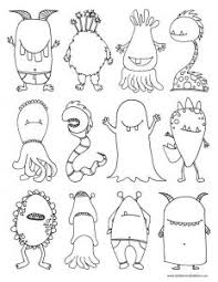 coloring pages delightful draw monsters halloween zombie