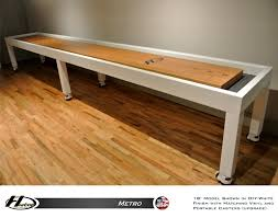 14 u0027 metro shuffleboard table gametablesonline com