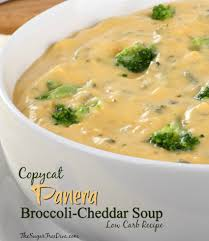carb copycat panera broccoli cheddar soup recipe