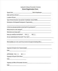free event registration form template registration form templates