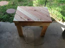 outdoor side table rectangular diagonal top outdoor