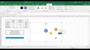 Perceptual Map How To Make A Perceptual Map In Excel 2016 Youtube