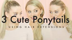Boheme Hair Extensions by How To Create Ponytails With Hair Extensions Milk Blush Hair