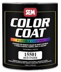 sem paints 15501 color coat flexible paint gallon red oxide
