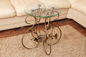 buy wrought iron coffee table on livemaster online shop