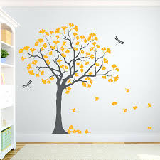 wooden leaves wall wall decals leaves wall ideas tree branch wall decor wooden tree