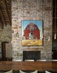 Best Cottagecountry Homebrick House  Rustic Style Images - Interior design rustic style