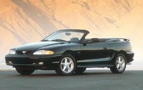 mustang convertible used 1998 ford mustang convertible pricing for sale edmunds