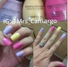 acrylic nails pastel easter or spring colors pastel pink yellow