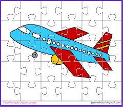 free printable jigsaw puzzle game aeroplane jigsaw puzzle