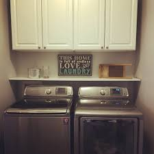 Decor For Laundry Room by Small Laundry Room Makeover Our House Pinterest Small