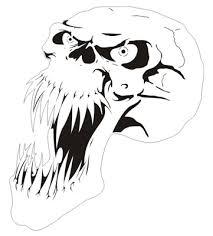 free airbrush stencils stencil skull picture stencil