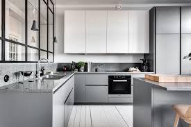 modern grey kitchen cabinets modern gray kitchen cabinets beat monotony with style
