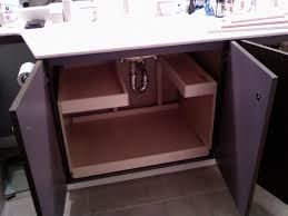 bathroom cabinets under sink drawer organizer pull out cabinet